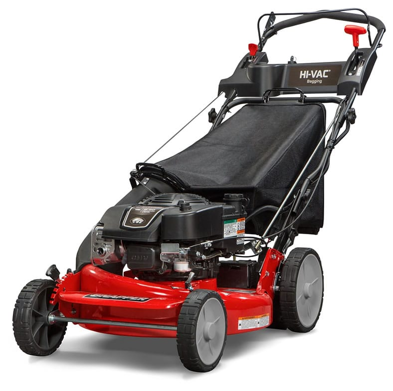 Snapper P2185020e Hi Vac Gas Powered Self Propelled Lawn