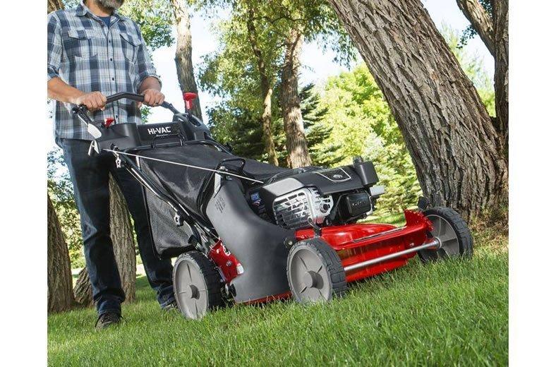 Snapper Hi Vac Gas Powered Self Propelled Lawn Mower