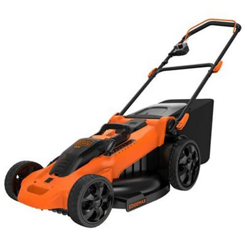 BLACK+DECKER CM2040 20″ Cordless Electric Mower Review