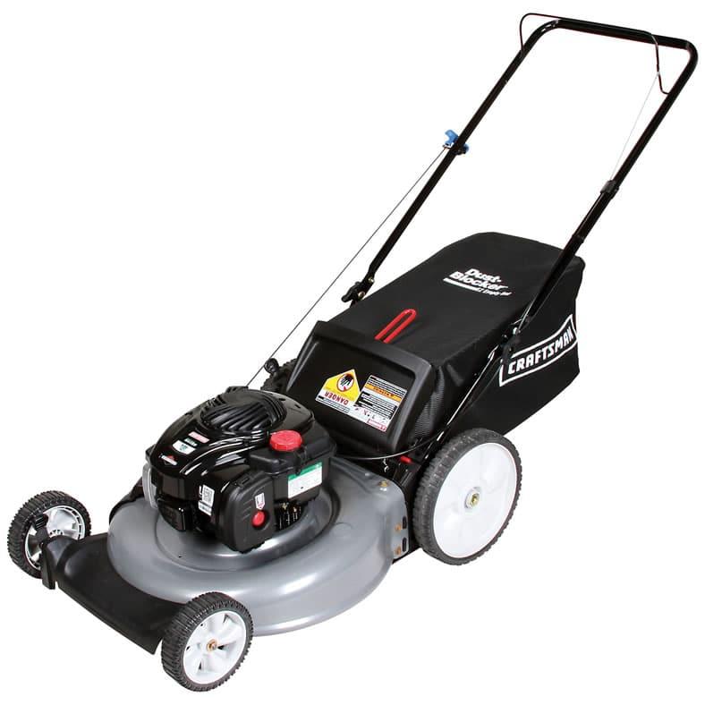 Craftsman 37430 21″ 140cc Briggs & Stratton Gas Powered Push Lawn Mower Review