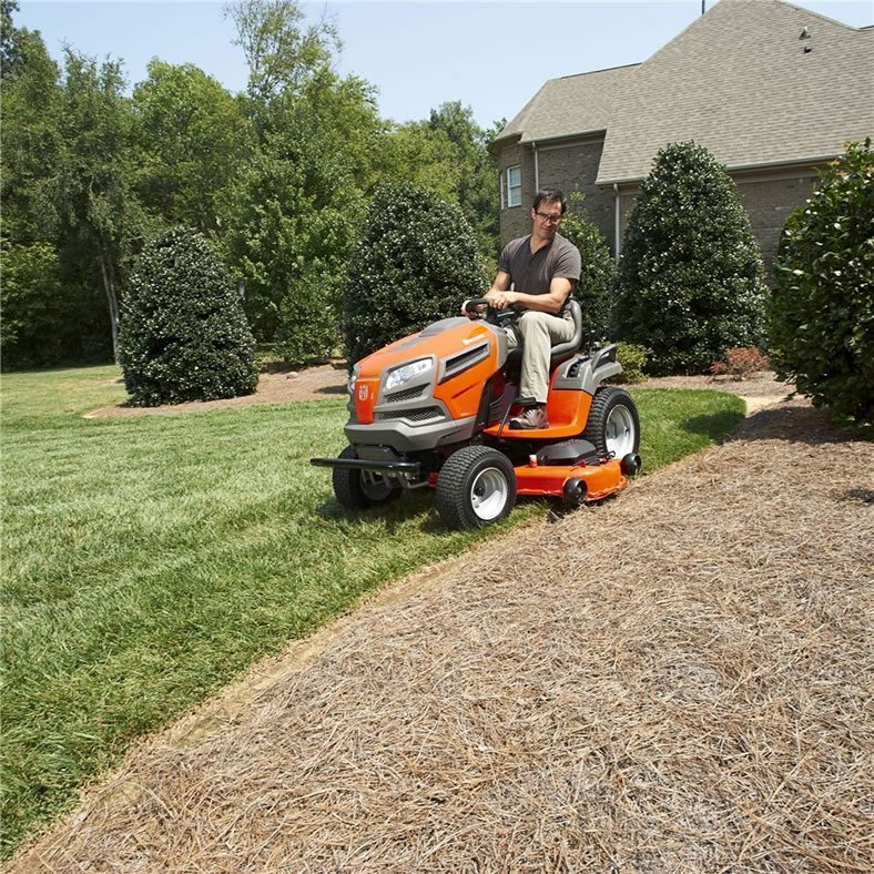 Garden Tractor Without Mower Deck : Husqvarna yta v tractor riding lawn mower review best