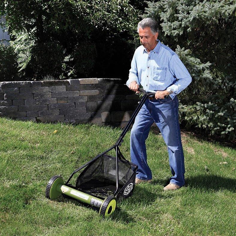 Sun Joe Mj500m Mow Joe 16 Inch Manual Reel Lawn Mower