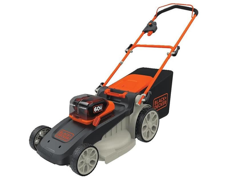 Black+Decker CM2060C 60V Powerswap 20″ Cordless Electric Mower Review