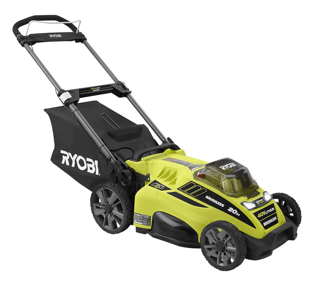 Ryobi Ry40180 Cordless Electric Push Lawn Mower Review