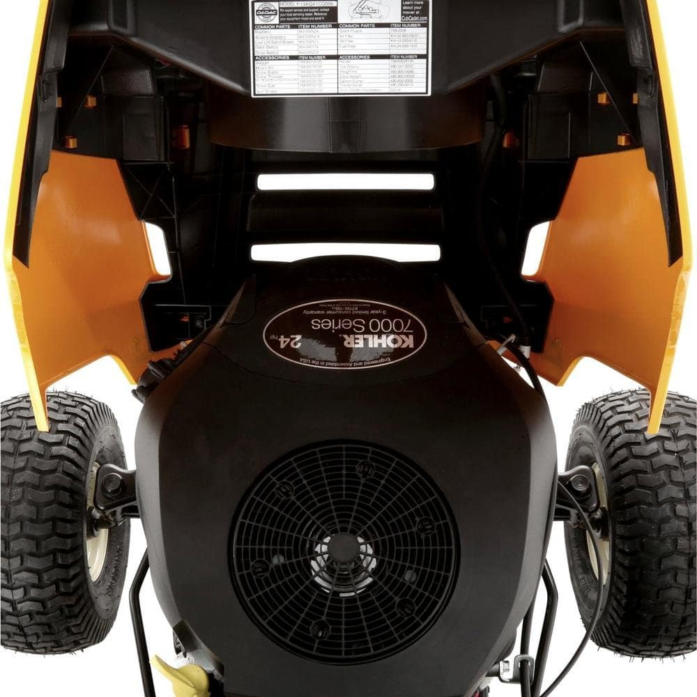 Cub Cadet Xt1 Wont Go In Reverse Wiring Kohler Diagram1541 The Engine Doesnt Quit Over A Minor Thing Like Wet Grass Though