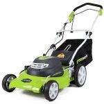 GreenWorks 25022 Corded Electric Lawn Mower Review 4