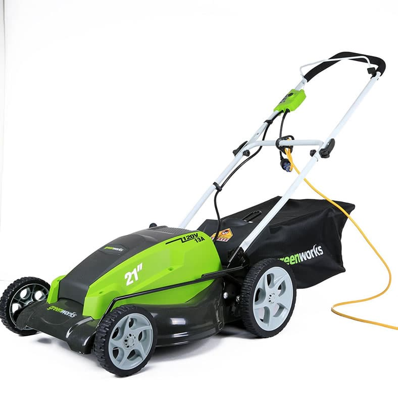 Greenworks 25112 21 Quot 13 Amp Corded Electric Lawn Mower