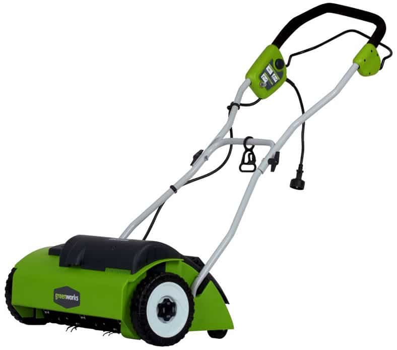 "Greenworks 27022 10-Amp 14"" Corded Dethatcher"