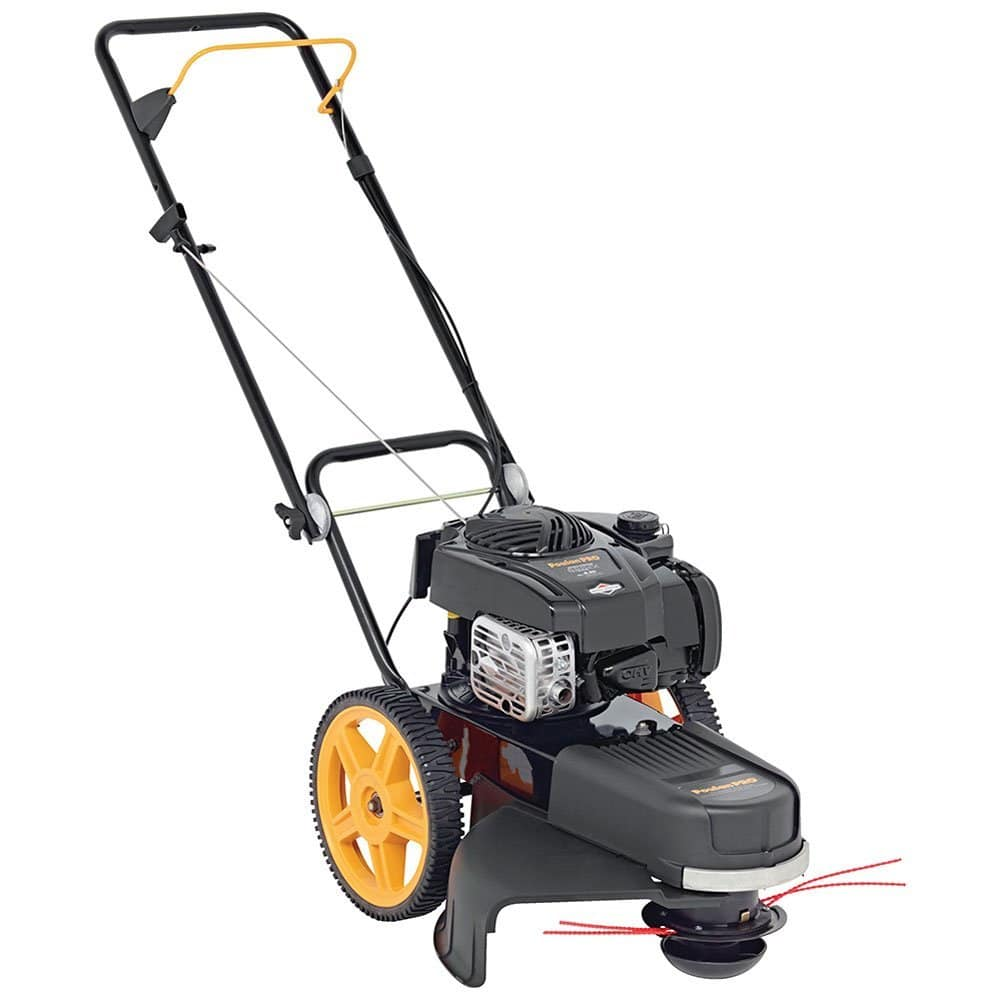 poulan pro prwt high wheeled trimmer review lawn mower review