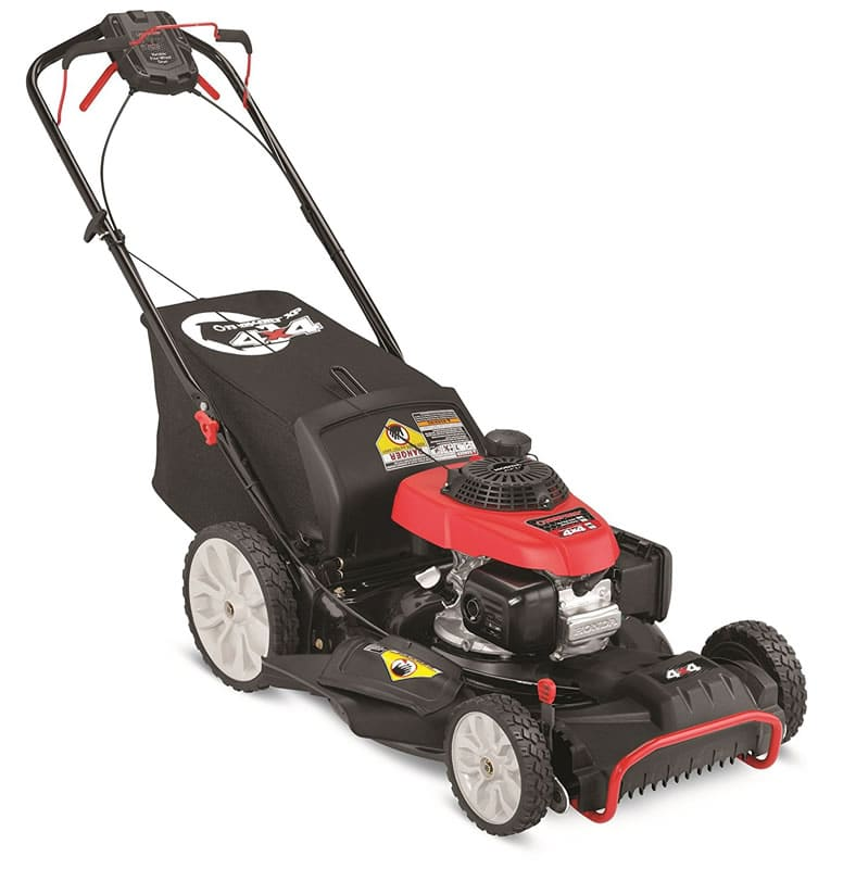"Troy-Bilt TB490 XP 21"" 190cc 2-in-1 4x4 Self-Propelled ..."