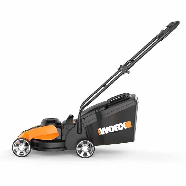 Worx Wg775 14 Inch 24 Volt Cordless Electric Lawn Mower