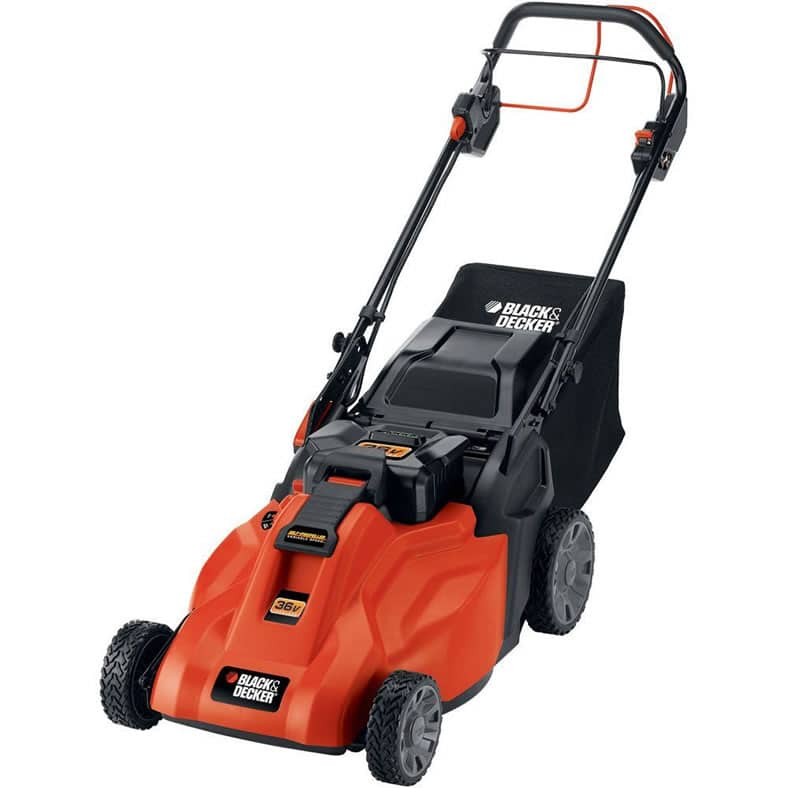 Black & Decker CM1936ZA Cordless Electric Lawn Mower Review