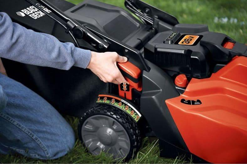 Black Amp Decker Cm1936za Cordless Electric Lawn Mower