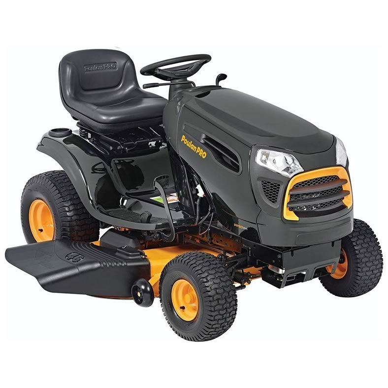 Poulan Pro PP20VA46 46″ Riding Lawn Mower Review