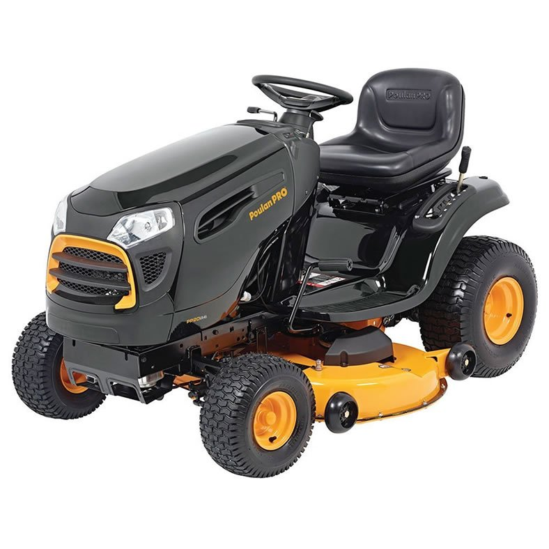 Poulan Pro Pp20va46 46 U0026quot  Riding Lawn Mower Review