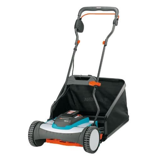 Gardena 4025 Cordless Electric Push Reel Lawn Mower Review 2 - How To Sharpen Gardena Reel Mower Blades