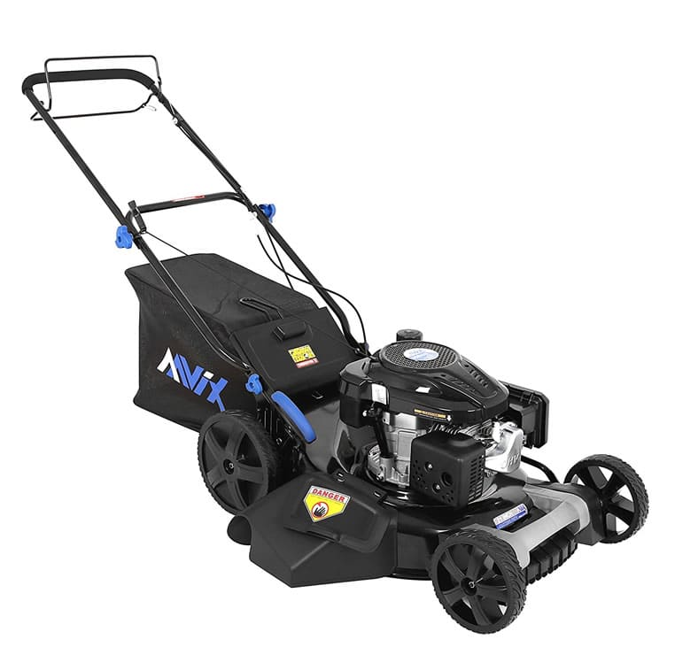 AAVIX AGT1321 Self-Propelled Gas Powered Push Mower Review