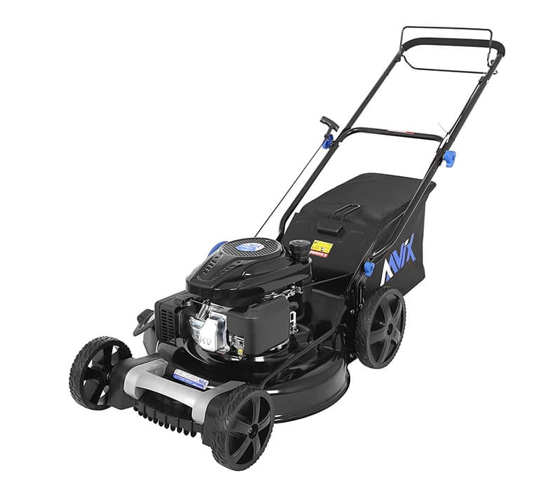 Aavix Agt1321 Self Propelled Gas Powered Push Mower Review