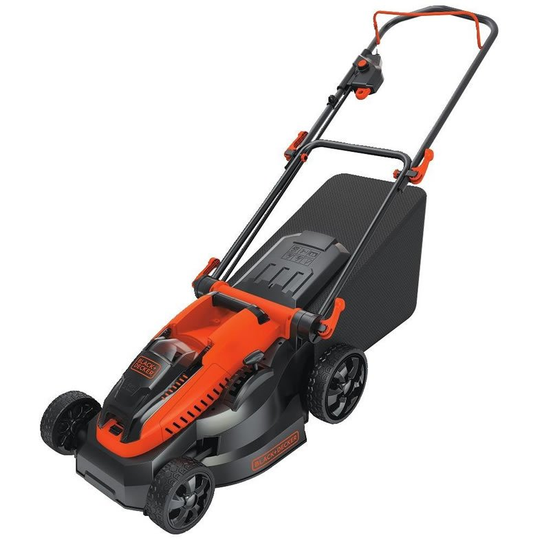 Black + Decker CM1640 16″ Cordless Electric Lawn Mower Review