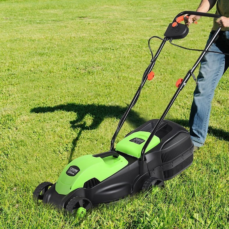 Goplus 13 Inch 12 Amp Electric Push Corded Lawn Mower