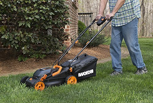 Worx Wg779 14 Quot 40v Battery Cordless Electric Lawn Mower W