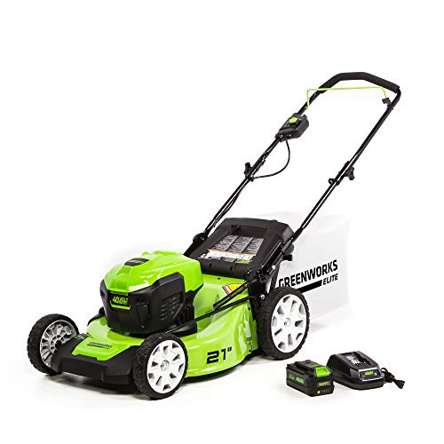 Greenworks M-210 21″ 40V Brushless Push Mower Review