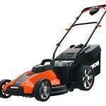 worx wg inch v ah cordless lawn mower batteries and charger