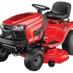 craftsman t hp briggs stratton gold inch gas powered riding lawn