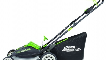 Earthwise 60420 Cordless Electric Push Lawn Mower Review