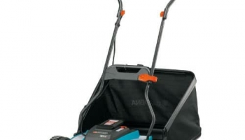 Gardena 4025 15″ Cordless Electric Push-Reel Lawn Mower Review