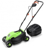 Goplus 13″ 12 Amp Electric Push Corded Lawn Mower Review