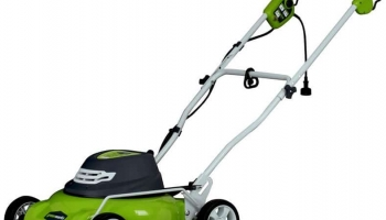 GreenWorks 25012 18″12 Amp Corded Electric Lawn Mower Review