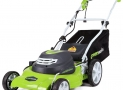 GreenWorks 25022 20″ 12 Amp Corded Electric Lawn Mower Review