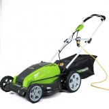 GreenWorks 25112 21″ 13 Amp Corded Electric Lawn Mower Review