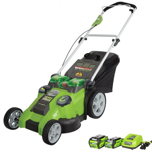 Greenworks 25302 Twin Force G Max 40 Volt Lithium Ion