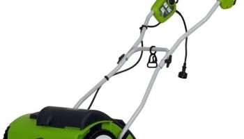 """Greenworks 27022 10-Amp 14"""" Corded Dethatcher"""