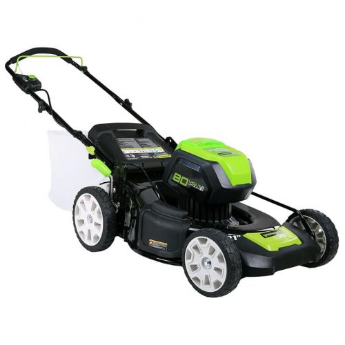 Greenworks Pro Glm801602 80 Volt Cordless Battery Ed Electric Lawn Mower Review