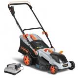 VonHaus 40-Volt 16″ Cordless Battery Lawn Mower Review