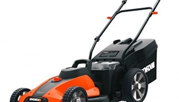 Worx WG744 17″ 40V Battery Cordless Electric Lawn Mower Review